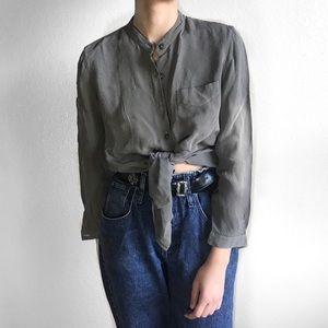 Saxs Fifth Avenue vtg button down blouse